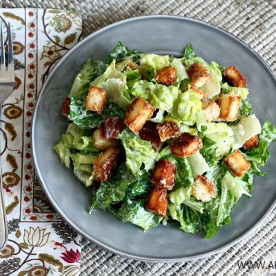 Halfway Homemade Caesar Salad Dressing