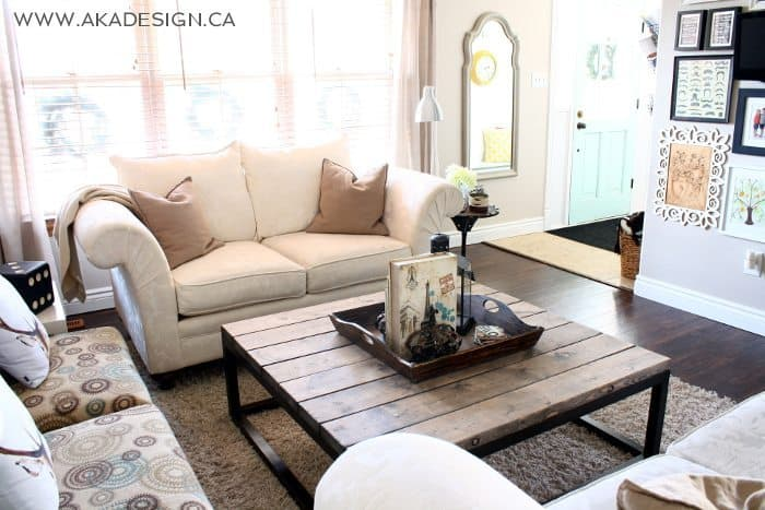 brickmaker's coffee table | www.akadesign.ca