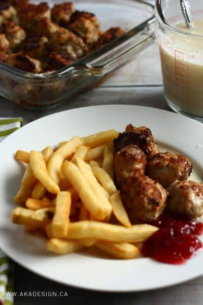 Swedish Chef Meatballs