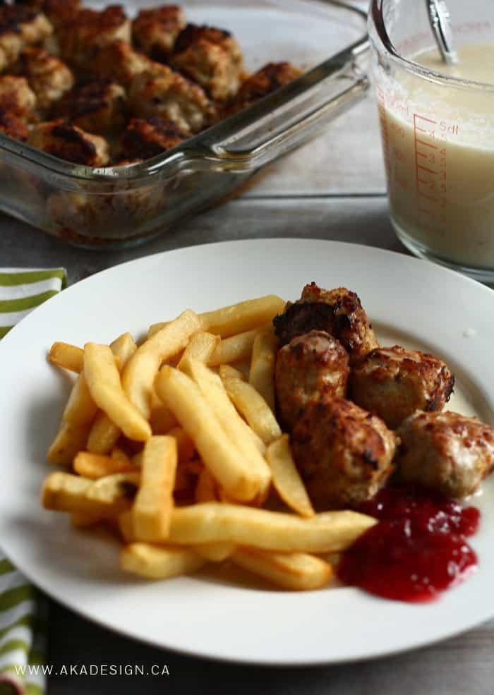 Swedish Chef Meatballs
