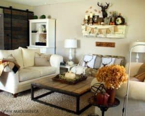 aka design fall living room | www.akadesign.ca