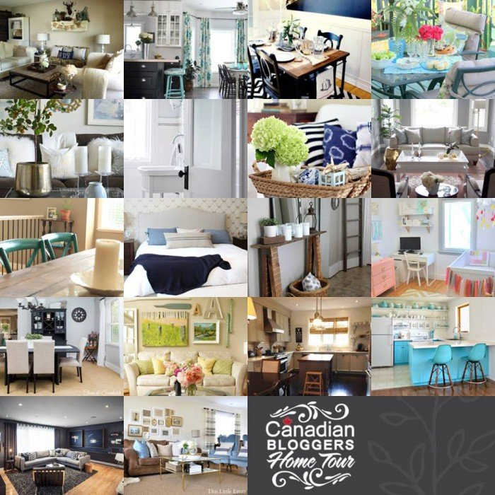 The Canadian Bloggers Home Tour #cbhometour