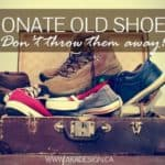 Donate Old Shoes