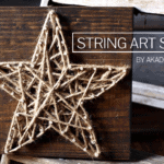 string art star | www.akadesign.ca
