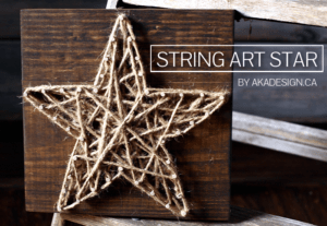 string art star   www.akadesign.ca