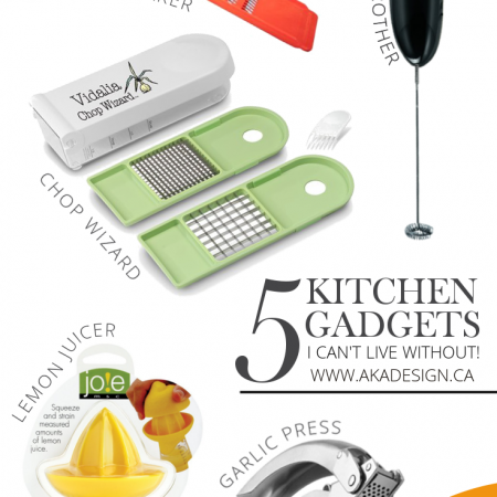 5 KITCHEN GADGETS I CAN'T LIVE WITHOUT