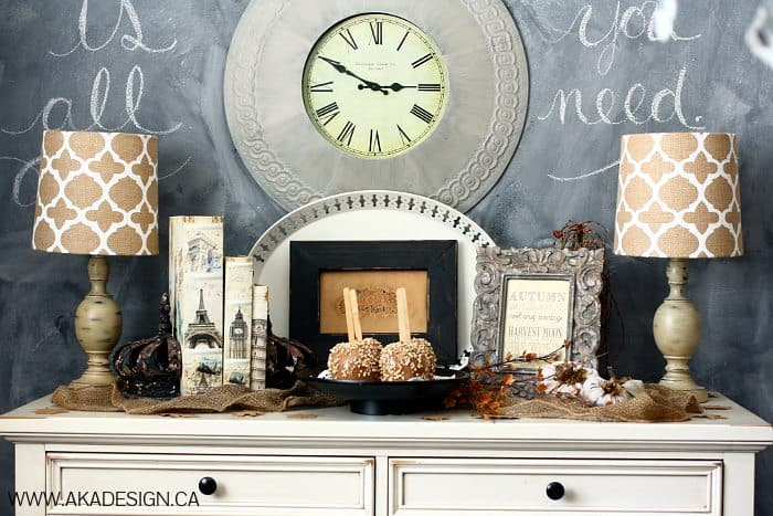 AUTUMN IN THE DINING ROOM | www.akadesign.ca