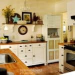 Creating a Farmhouse Kitchen | Blogger Homes