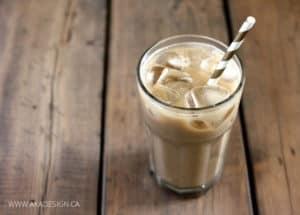 NO SUGAR ICED COFFEE LATTE