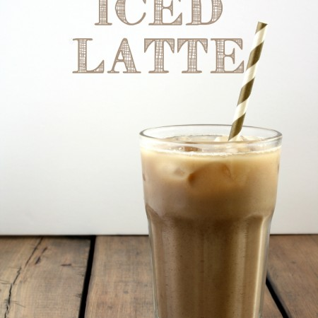 NO SUGAR ICED LATTE aka design