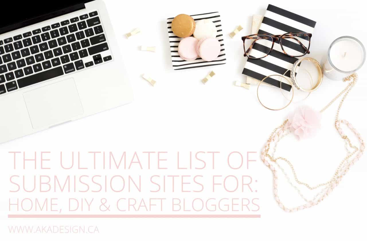 THE ULTIMATE LIST OF SUBMISSION SITES FOR BLOGGERS