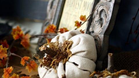 Fabric Cinderella Pumpkins – A Simple DIY for Fall Decorating