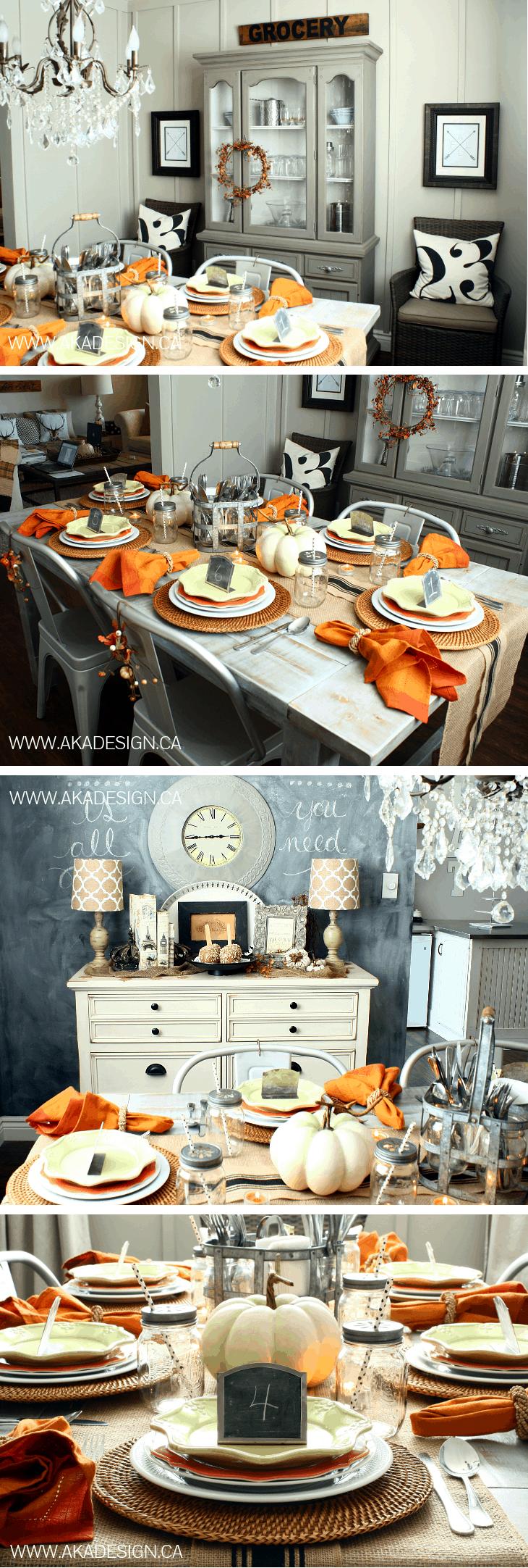 early fall dining room aka design