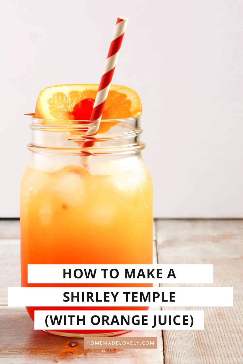 how to make a shirley temple recipe pin