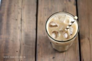 sugar free iced latte