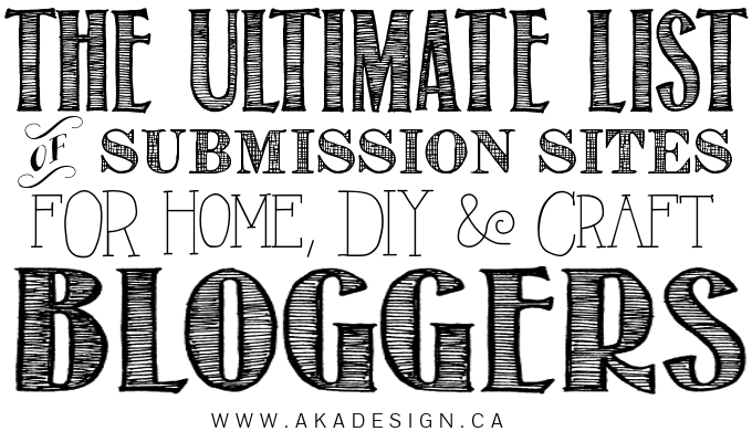 ultimate list of submission sites for bloggers