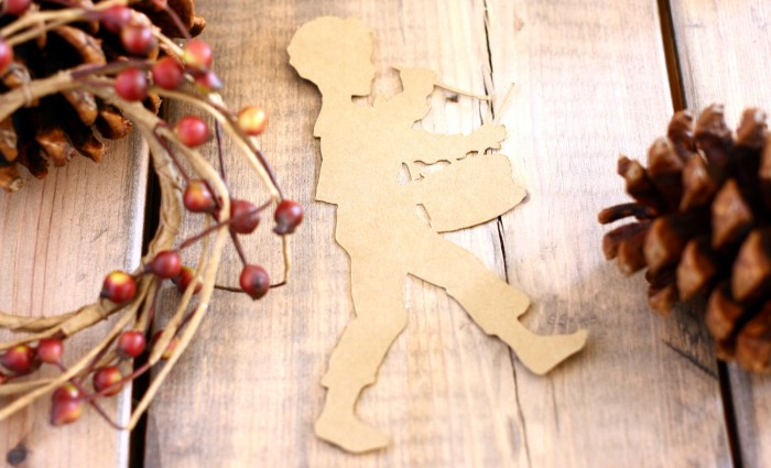 Little Drummer Boy Silhouette Cut Out – Kraft – Set of 5