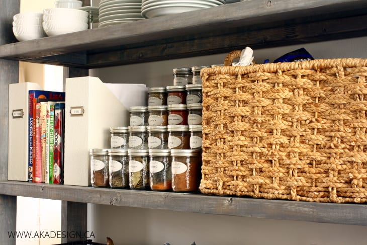 canning jar spice storage