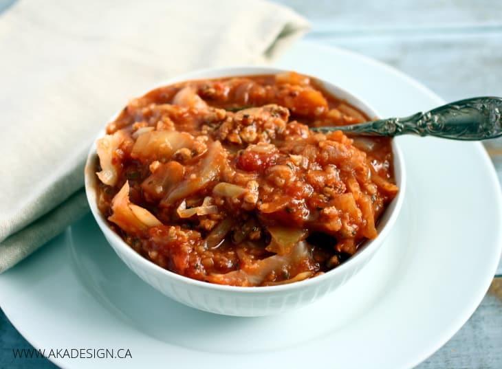 crock pot cabbage casserole