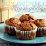 gluten free apple cinnamon muffins
