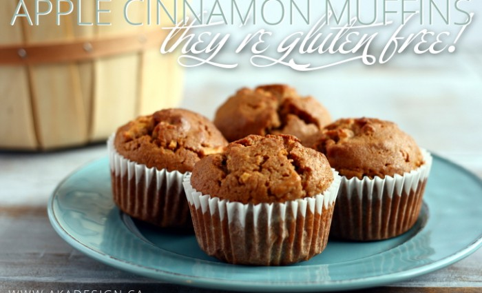 Apple Cinnamon Muffins (Gluten Free)