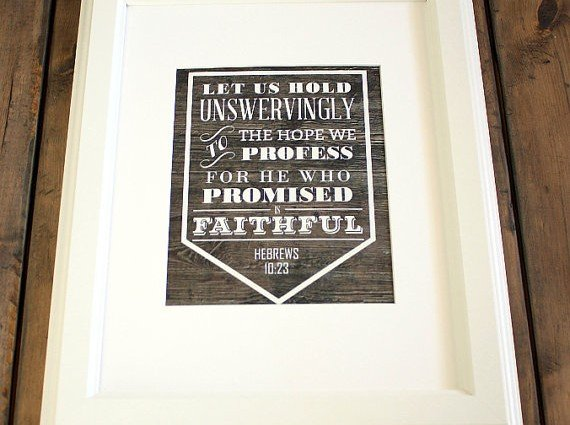He Who Promised is Faithful 8″x10″ Art Print