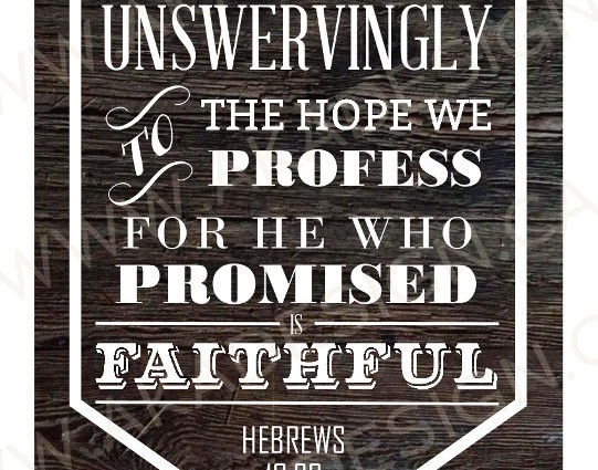 He Who Promised Is Faithful 8″x10″ Digital Art Download