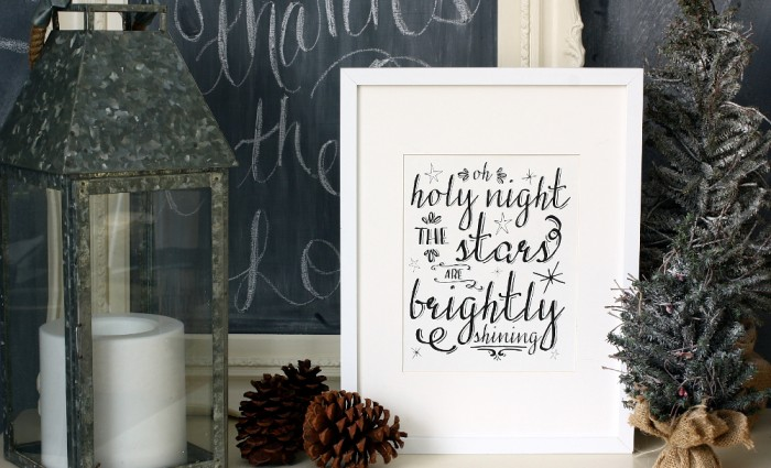 Oh Holy Night 8″x10″ Art Print