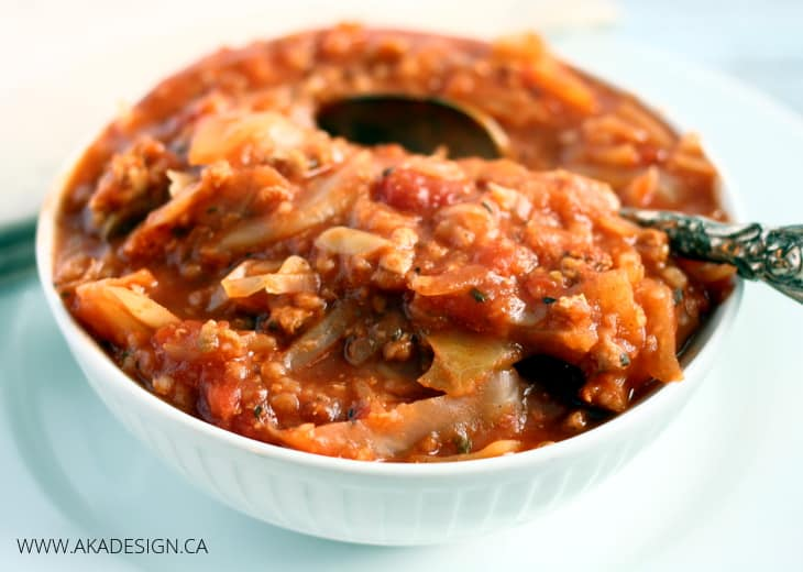 slow cooker cabbage casserole aka design