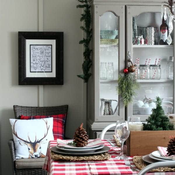 A Woodland Christmas Dining Room BLOG size