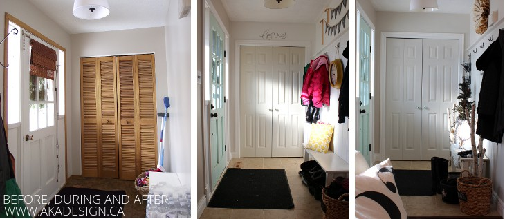 AKA DESIGN ENTRYWAY BEFORE DURING AND AFTER