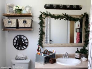 CHRISTMAS IN THE BATHROOM