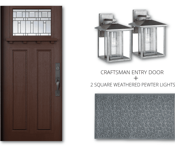 Curb Appeal – Pairing Exterior Doors with Lighting and Accessories