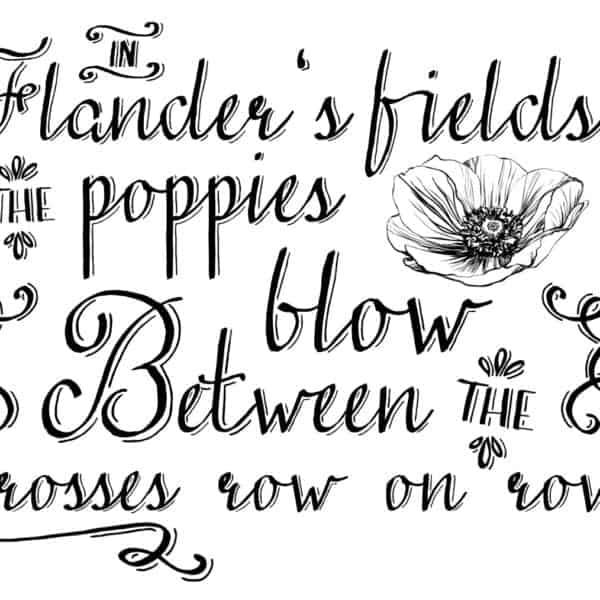 In Flander's Fields Art Print
