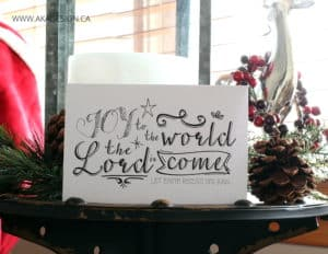 JOY TO THE WORLD THE LORD IS COME FREE PRINTABLE