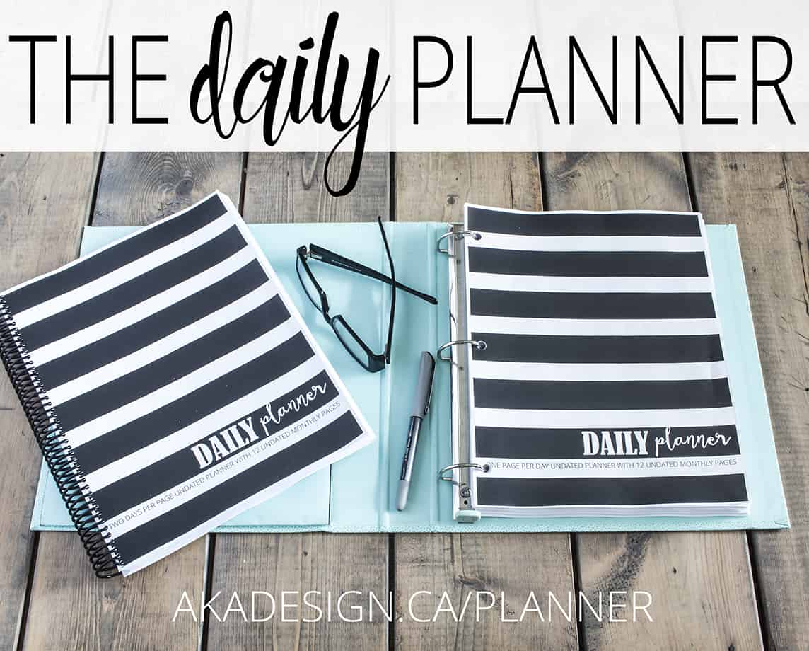 THE DAILY PLANNER 72 ppi