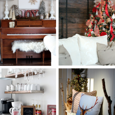 A Cozy Christmas in the Suburbs | Canadian Bloggers Christmas Home Tour