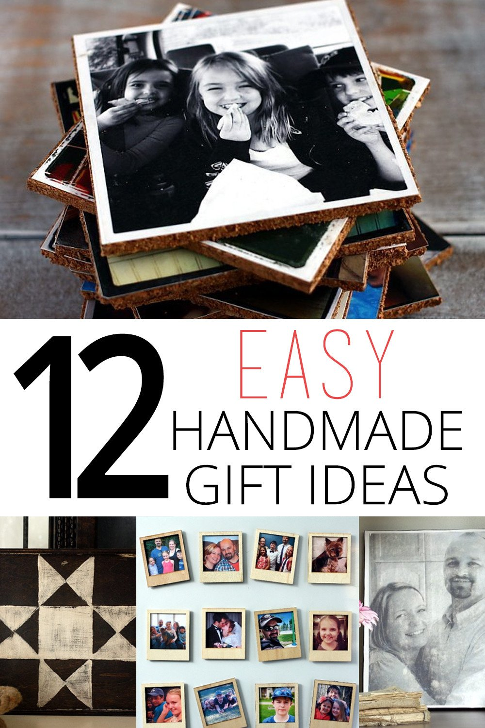 12 easy handmade gift ideas