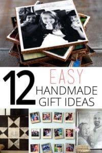 12 easy handmade gift ideas
