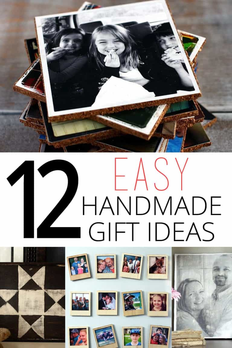 Handmade Gift Ideas – 12 Easy Gifts to Make This Year!