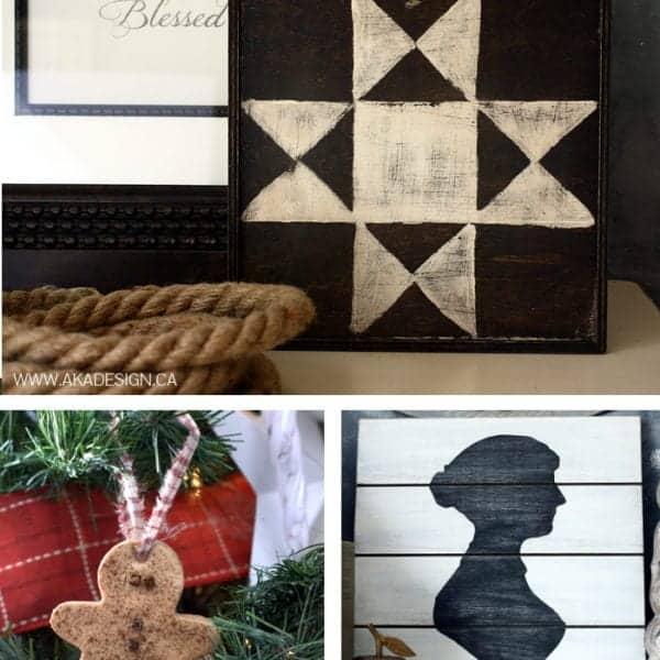 12 handmade gift ideas | www.akadesign.ca