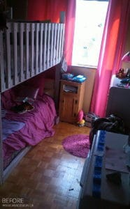 GIRLS ROOM BEFORE