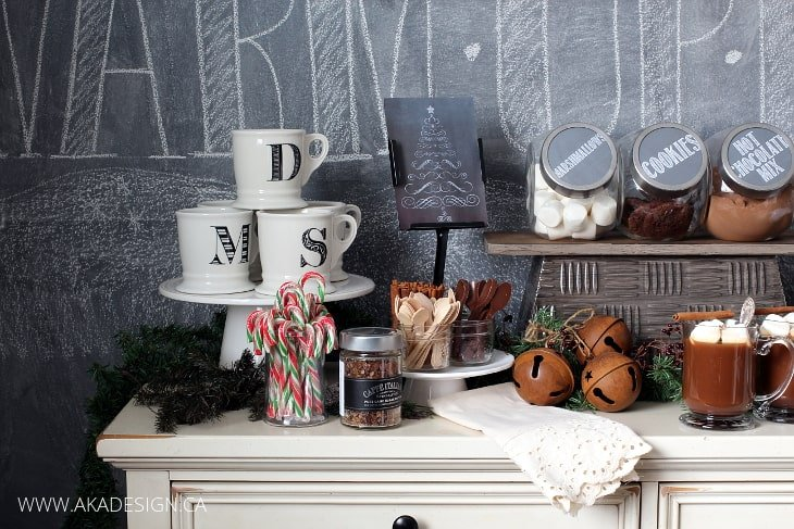 HOLIDAY HOT CHOCOLATE BAR