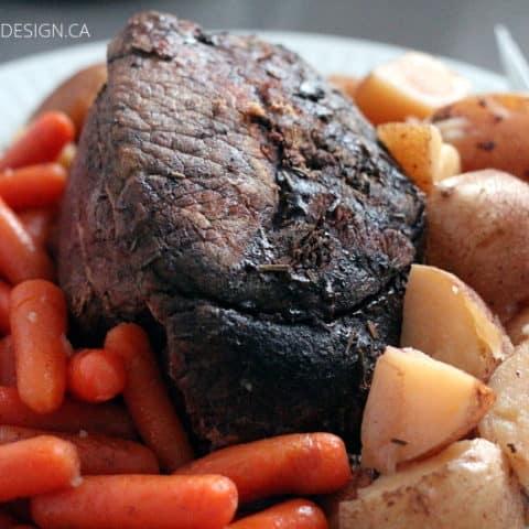 Slow Cooker Roast Beef Dinner