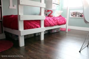 UNDER BUNK BED STORAGE