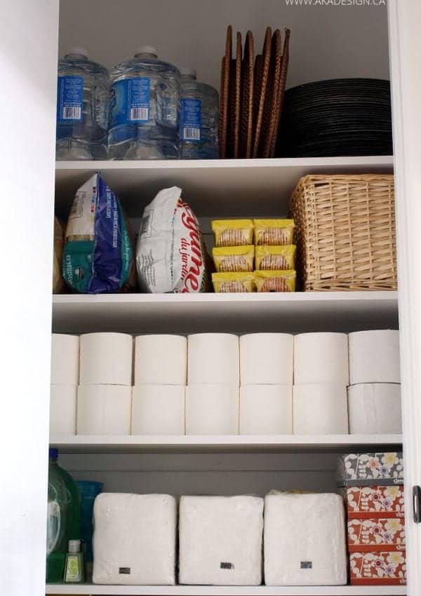Small Closet to Extra Pantry