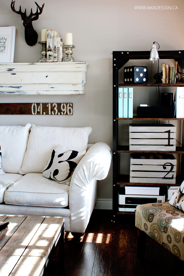 RESTORATION HARDWARE INSPIRED LIVING ROOM A