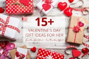 Valentine's Day Gift Ideas for Her From Etsy