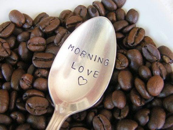 Morning Love Coffee Spoon