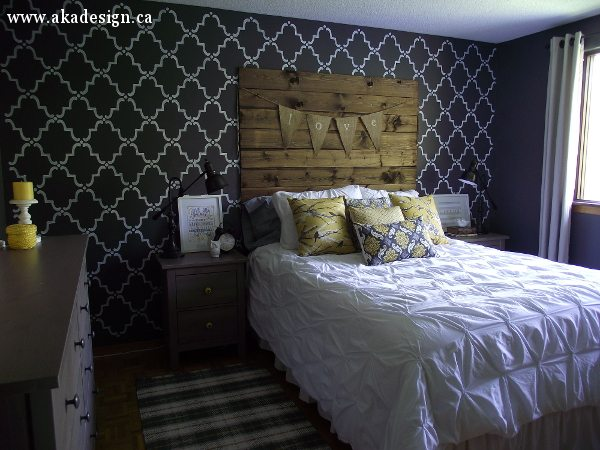 rustic chic master bedroom